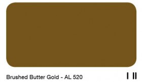 30Brushed Butter Gold - AL 520