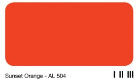 20Sunset Orange - AL 504